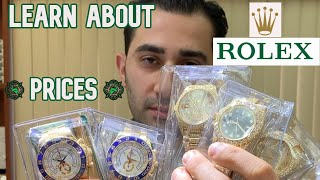 ROLEX PRICES : Time To Learn About
