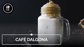 Café Dalgona: ¡receta súper fácil y muy rápida!