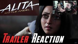 Alita: Battle Angel Angry Trailer Reaction!