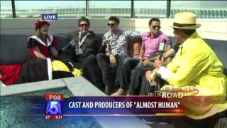 Almost Human Cast Interview - FOX 5 San Diego
