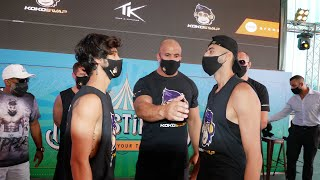 N&A Productions vs Slim Albaher OFFICIAL PRESS CONFERENCE & FACE-OFF