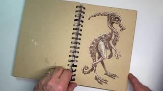 Sketchbook 2019 - Kraft Paper