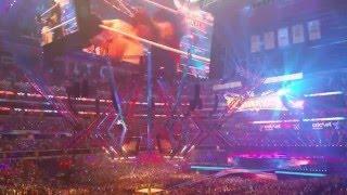 Wrestlemania 32 - HBK, Mick Foley, and Austin Entrances