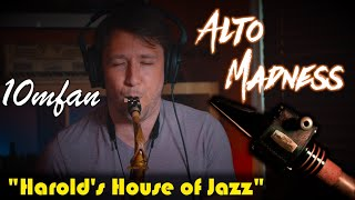 """The Brand New 10mfan ALTO MADNESS Mouthpiece! """"Harold's House of Jazz"""" (Richie Cole)"""