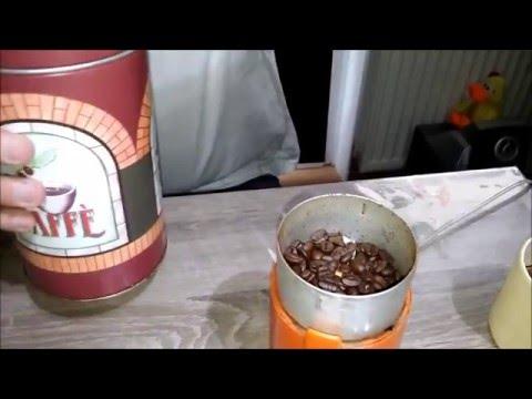 Kaffee frisch zubereitet
