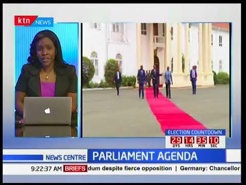 President Uhuru convenes a Jubilee party parliamentary meeting