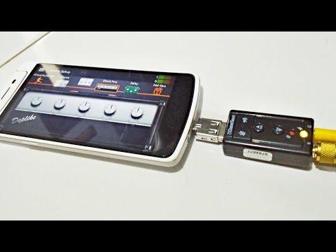 Alternatif iRig dan Guitarlink: USB Soundcard dipake utk Gitar di Android