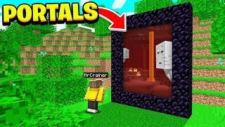 *NEW* See Through PORTALS in Minecraft