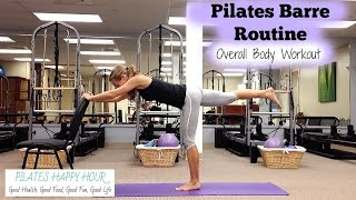Barre Workout At Home - Barre Plus Pilates Exercises! by Jessica Valant Pilates