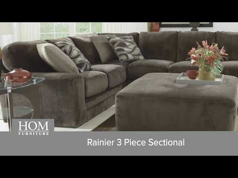 rainier 3 piece sectional