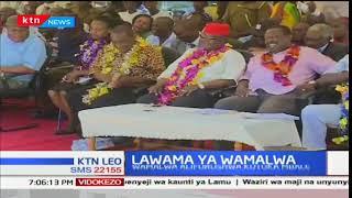 Waziri wa maji Eugene Wamalwa alaumu Musalia Mudavadi kwa mafurusho mjini Bungoma