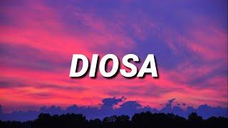 "Video thumbnail of ""Myke Towers - Diosa (Letra)"""