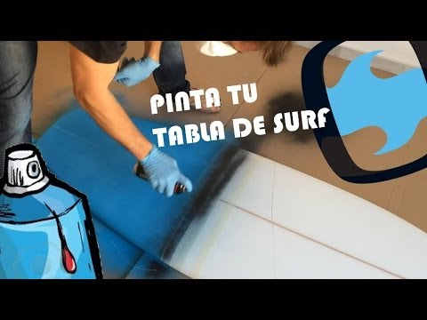 ¿Como pintar tu tabla de surf?