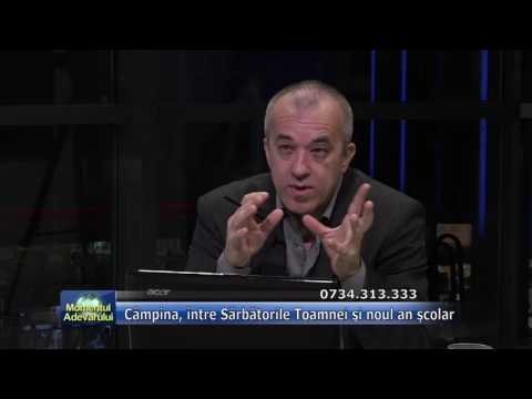 """Emisiunea """"Momentul adevărului"""" – 08.09.2016 – invitat, Horia Tiseanu"""