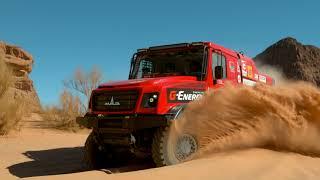 G-Energy team at Dakar