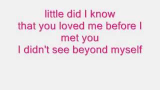 ZoeGirl - Little did I know (With Lyrics)