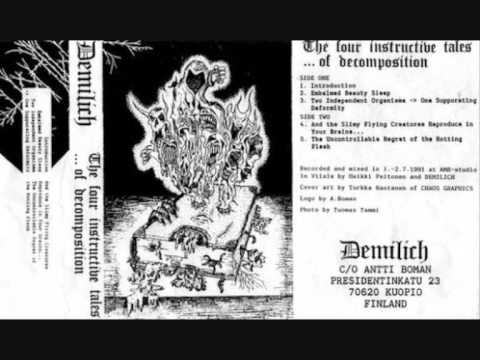Demilich - Two Independent Organisms to One Suppurating Deformity online metal music video by DEMILICH