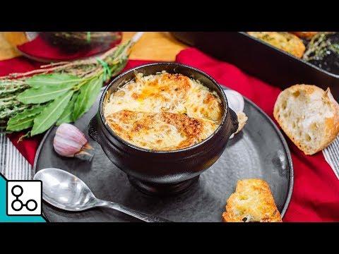 Soupe à l'oignon gratinée - YouCook