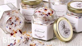 How To Make Botanical Bath Salts - Bramble Berry Kit Project | Bramble Berry