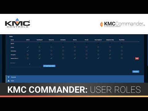 KMC Commander: User Roles