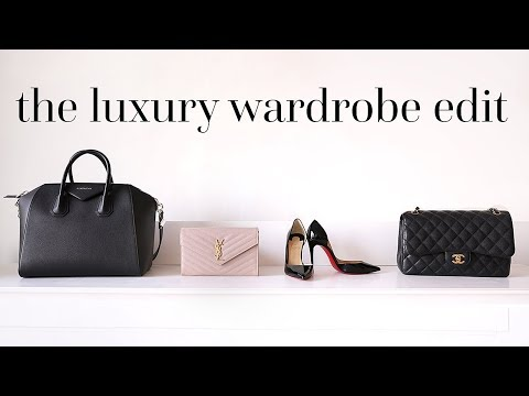 HOW TO BUILD THE ULTIMATE LUXURY WARDROBE