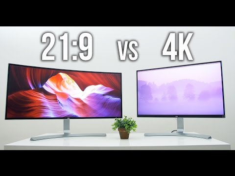 UltraWide 21:9 vs UHD 4K   Which is for you?