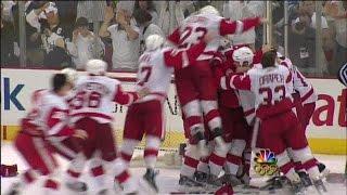 2008 Playoffs: Det @ Pit - Game 6 Highlights/Stanley Cup Presentation
