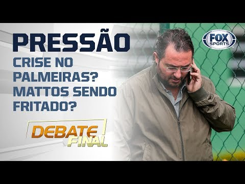 Crise no Palmeiras? Mattos sendo fritado? Mano sob pressão?