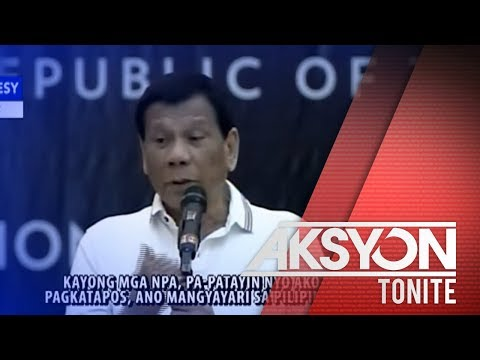 [News5]  Pres. Duterte, may panawagan sa mga NPA