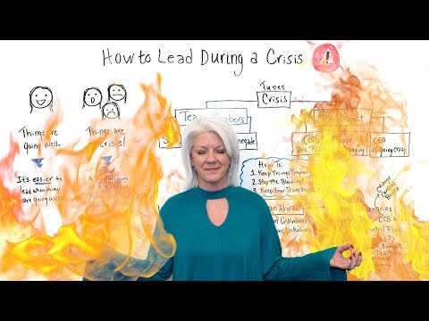 How to Lead During a Crisis - Project Management Training ...