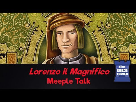 Lorenzo il Magnifico Review - with Meeple Talk