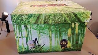 Lego Ninjago Movie Warner Bros Gift Box - UNBOXING!