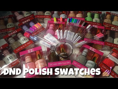 DND Polish Swatches 💅🏽❤️💋
