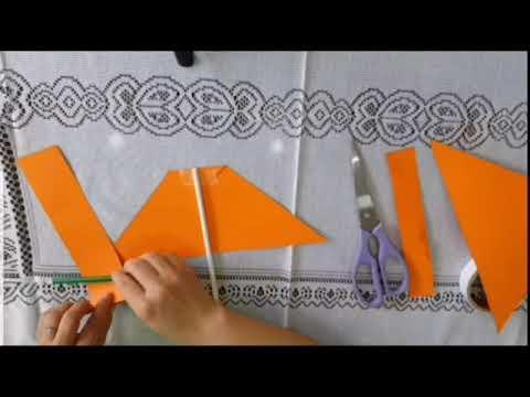 Làm kèn bằng giấy - MGN B1 - Trường mẫu giáo Bách Khoa