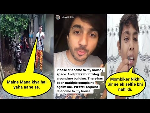 Download Mumbiker Nikhil Reply To Govind Vlogs and Other Small Youtubers HD Mp4 3GP Video and MP3