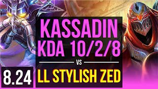 kassadin vs zed - मुफ्त ऑनलाइन वीडियो