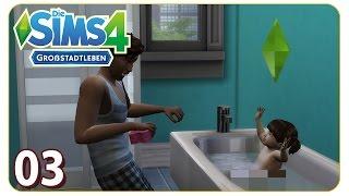 Badespaß mit Papa #03 Die Sims 4 - We are Family [Spezialreihe Kleinkinder] - Let's Play