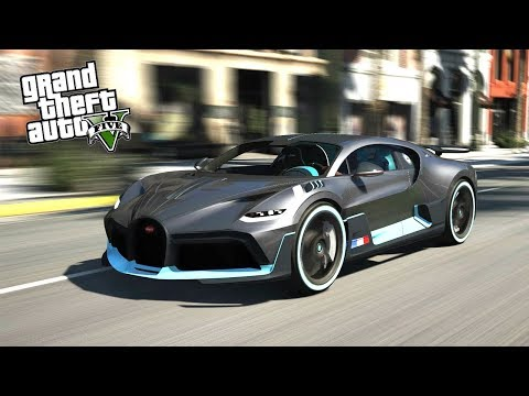 2019 BUGATTI DIVO IN GTA V!!! Epic Real Life Cars Mod GTA 5