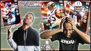 WAGER! THREE ULTIMATE LEGENDS ON THE LINE!! - MUT Wars Ep.56 | Madden 17 Ultimate Team