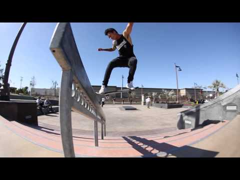 Friday in the Park with Nyjah Huston and Tommy Fynn