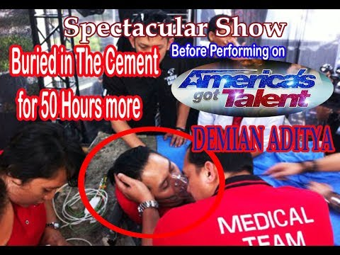 DEMIAN ADITYA: SHOW SPECTACULAR BEFORE IN AMERICA'S GOT TALENT 2017 | LIVE ON 2015 (видео)