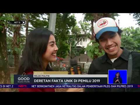 Deretan Fakta Unik di Pemilu 2019 : Good Election