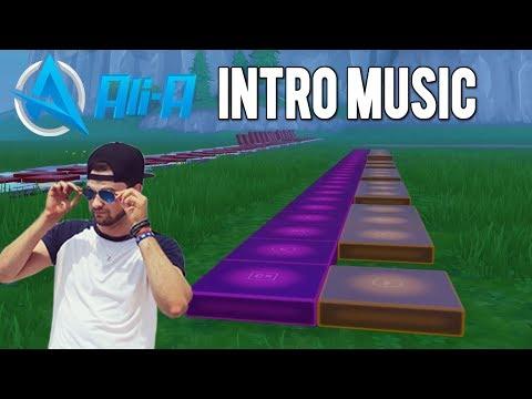 "Watch ""Fortnite Music Blocks: Ali-A Intro Music TUTORIAL"
