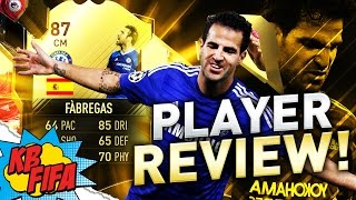 FIFA 17  IN FORM CESC FABREGAS (87) PLAYER REVIEW! | FIFA 17 ULTIMATE TEAM