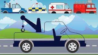 Street Vehicles with wrong head   Ambulance, Tow Truck   What Cabin? Karetka i Holownik Bajka
