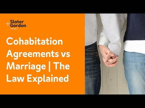 Cohabitation Agreements vs Marriage   The Law Explained