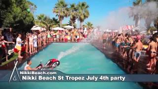 Nikki Beach St Tropez July 4th Party 2014