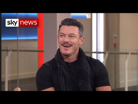 Luke Evans sings his way into our hearts