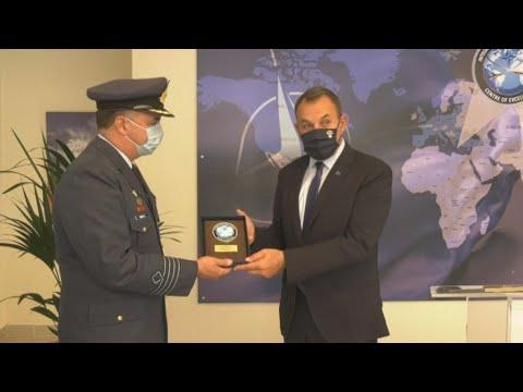 Εγκαίνια του Κέντρου Αριστείας Ολοκληρωμένης Αντιαεροπορικής και Αντιπυραλυικής Άμυνας