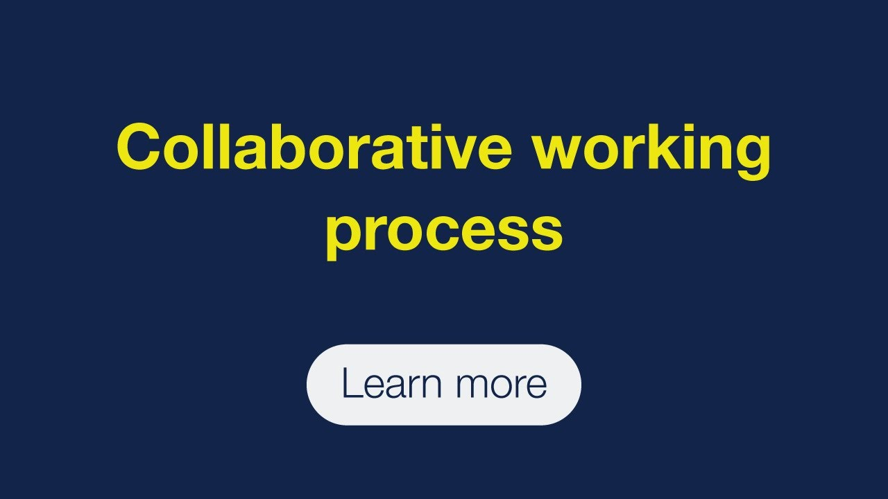 Collaborative working process between students, agents and schools